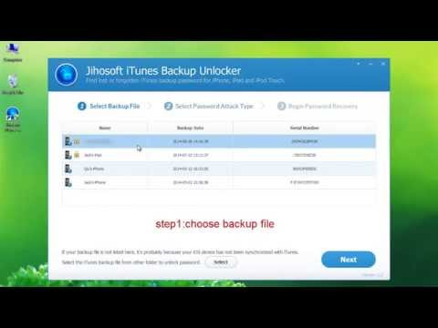How to Recover iTunes Backup Password?