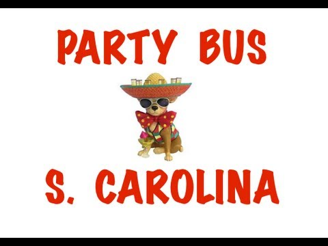 Party Bus Rental in South Carolina - Columbia, Charleston, North Charleston, Mt. Pleasant, Rock Hill