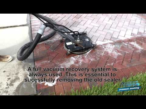 Paver Restoration And Sealing Full Process in 4k!