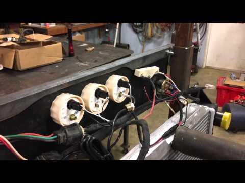 Homemade Engine Test Stand
