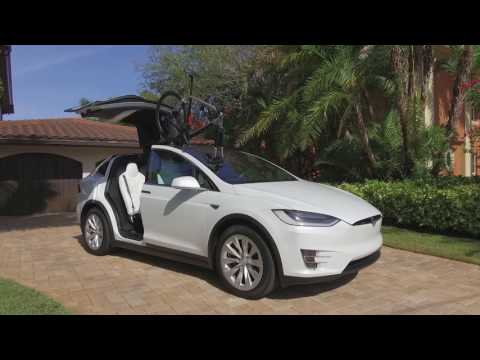 Tesla Model-X with the SeaSucker Talon Bike Rack