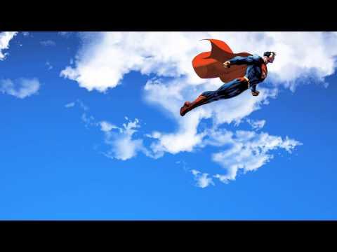 Superman cartoon - QT test