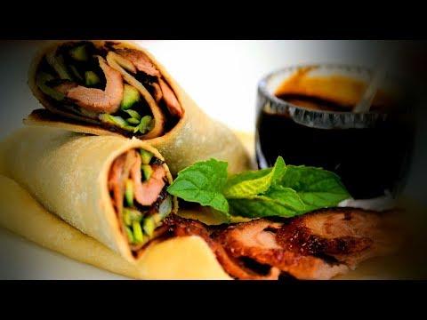 Chinese Peking Aromatic Duck & Pancakes (Chinese Style Recipe)