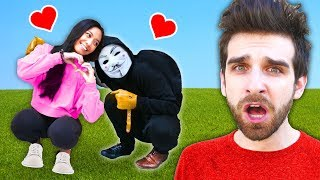 REGINA & HACKER PZ2 Are Best Friends? Daniel Undercover in Disguise with Puppet on Funny Challenge!