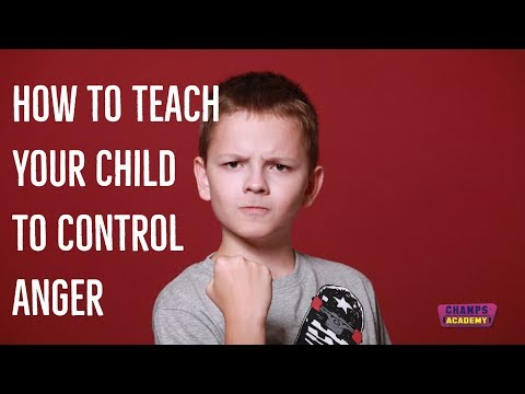 How to Teach Child to Control Anger - Annette Du Bois, CHAMPS Academy