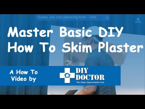 DIY Doctor Master Basic DIY: How to Skim Plaster