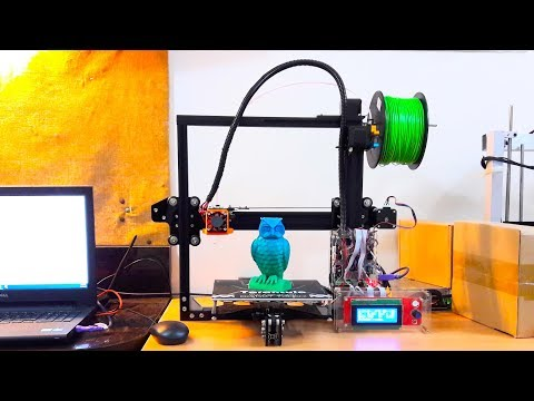 Tevo Tarantula 3D Printer - Unboxing and Assembly