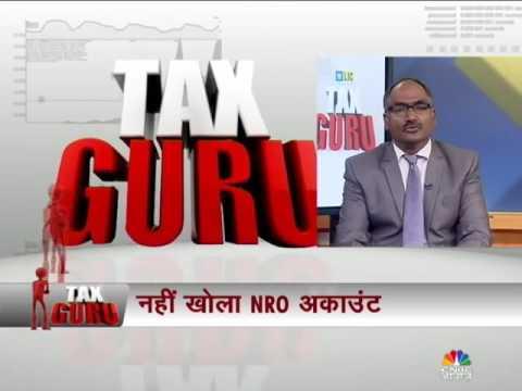 taxation of NRI income and FEMA provisions explained by Balwant Jain on CNBC AWAAZ