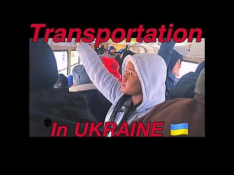 Different Means Of Transportation In Ukraine