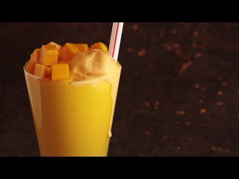 Mango Juice Recipe | How To Make Mango Juice | Summer Special Juice | OraMango Mastani at Joules