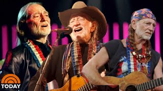 Willie Nelson Talks Legacy in Country Music with Al Roaker   TODAY