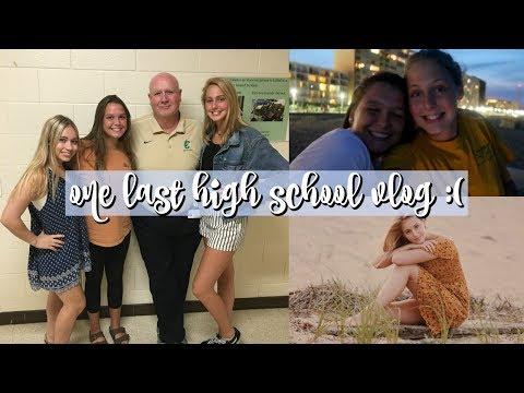 LAST WEEK of High School EVER!! | senior year vlog