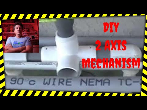Poormans 2 Axis Animated DIY Halloween Prop Mechanism