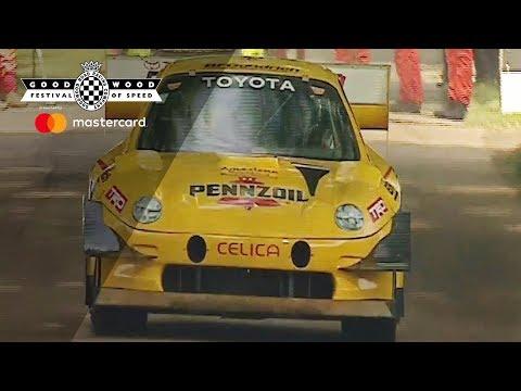 Top 25 Festival of Speed Moments | Rod Millen's monstrous Celica