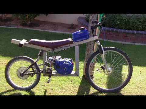Homemade Dirt Bike