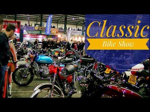 Classic bike Show Stafford Showground Oct 2017