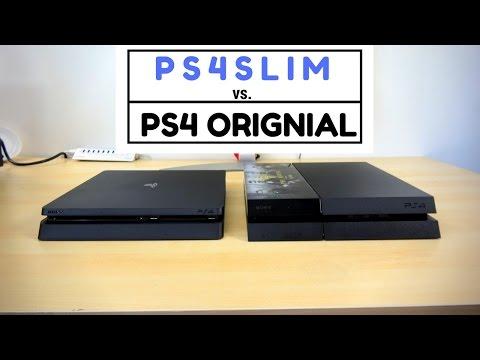 PS4 Slim vs PS4 Original: Battle Vid