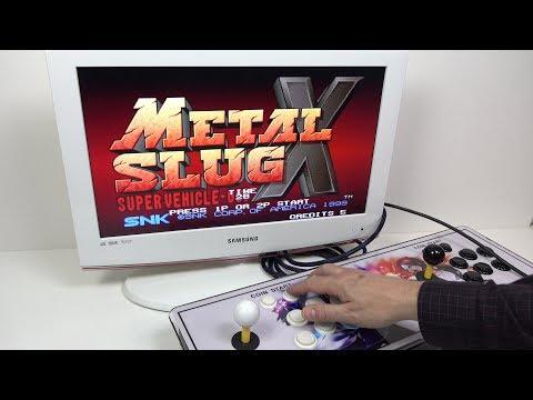 The plug & play 800+ game Retro Arcade Stick -  Pandora's Box 4S REVIEW