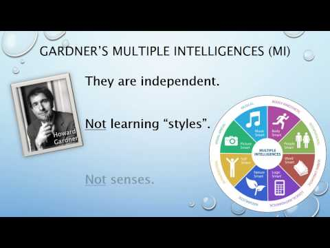Multiple Intelligences (MI) Theory Overview