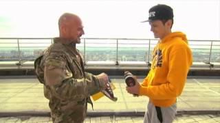 'Mustang Wanted' Awarded Gun: Interior minister arms Ukrainian daredevil