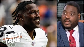 It is up to Antonio Brown to fall in line with the Patriots – Damien Woody | First Take
