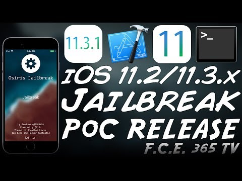 NEW iOS 11.3.1/11.2.x JAILBREAK PoC RELEASE: My Own Jailbreak Project (Osiris Jailbreak)
