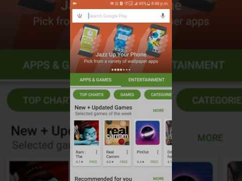 How to get play store games and app in sd card