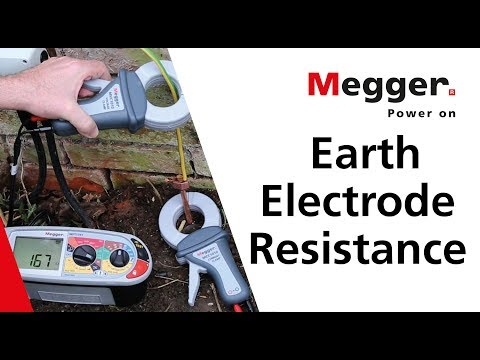 MFT1741 Earth Electrode Resistance | Megger three-wire ground stake
