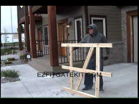 EZ Fit Three Rail Gate Kit