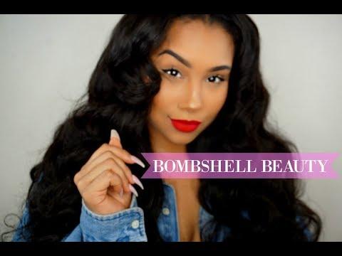 BOMBSHELL GRWM: Make up & NayaVista Loose Wave Hair | TheAnayal8ter