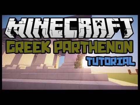 Minecraft: Greek Parthenon Building Tutorial