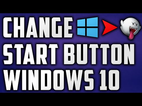 How To Change Start Button/Menu On Windows 8/10 FAST AND EASY 2015!