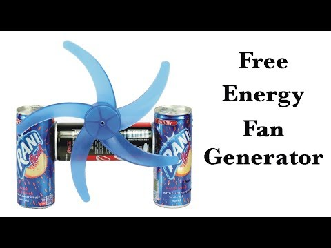 How to Make Free Energy Air Generator at Home - 100% FreeEnergy