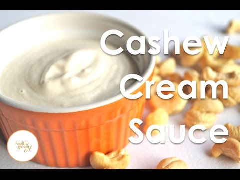 How To Make: Cashew Cream Sauce | Quick Vegan Recipe | Healthy Grocery Girl®