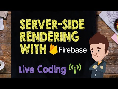 Server-Side Rendering with Firebase Live Stream