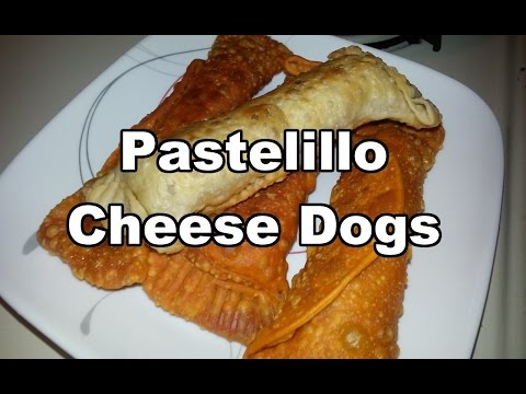 Pastelillo Cheese Dogs | Puerto Rican Cheese Dog