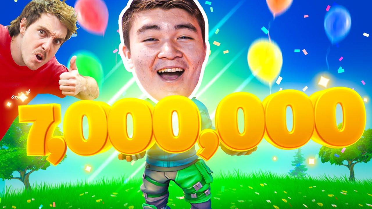 WE HIT 7,000,000 SUBSCRIBERS!