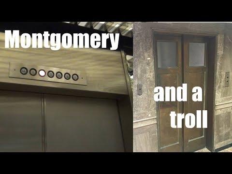 Montgomery Traction Elevators @ Kress Energy Center - Wichita, KS