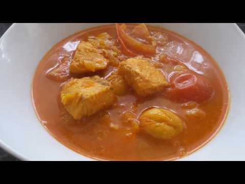 Salmon and tomato curry/ Fish curry