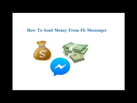 How To Send Money From Fb Messenger