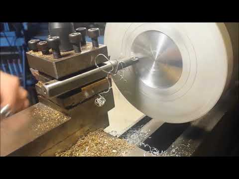 Mini lathe 5 Inch chuck and adapter plate with 'Epic Fail'