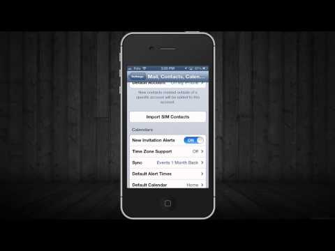 how to import sim contacts phone numbers to iPhone 5, iPhone 4S, iPhone 4, iPhone 3GS