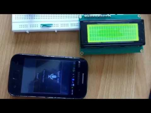 Voice to Text Conversion using Android Arduino by Prof  Aniket Tondare
