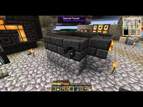 Making a Smeltery - AgSkies 13 - Minecraft Minute