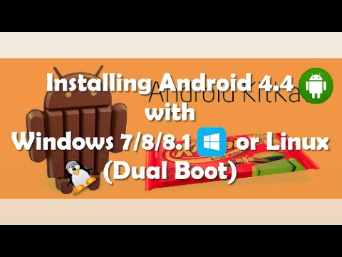Install Android 4.4 Kitkat on Computer with Windows PC 2014