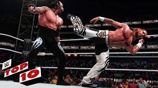 Top 10 Undertaker Greatest Wrestlemania Wins ( WWE 2K18 )