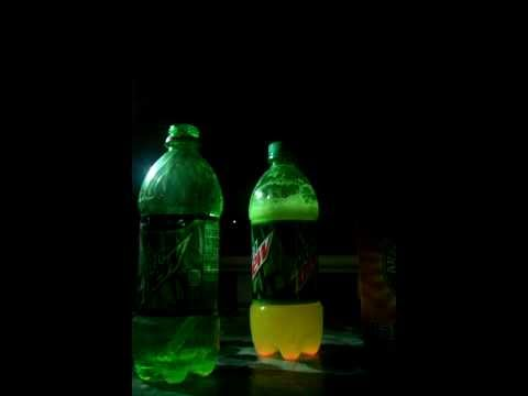 How to make a Mountain Dew glow stick