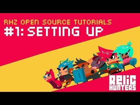Relic Hunters Zero Open Source Tutorial #1: Setting Up