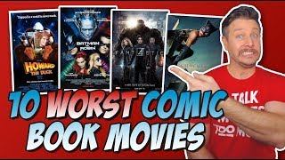 Download Top 10 Worst Comic Book Movies of All-Time! Video