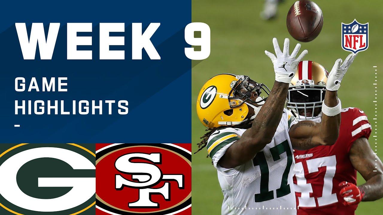 Packers vs. 49ers Week 9 Highlights | NFL 2020